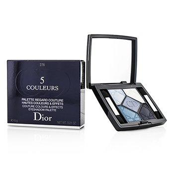 Christian Dior 5 Couleurs Moda Renkler ve Etkiler Göz Farı Paleti  -  No. 276 Carre Bleu  6g/0.21oz