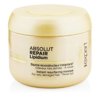 L'Oreal Professionnel Expert Serie - Absolut Repair Lipidium Instant Resurfacing Masque (For Very Damaged Ha  200ml/6.7oz