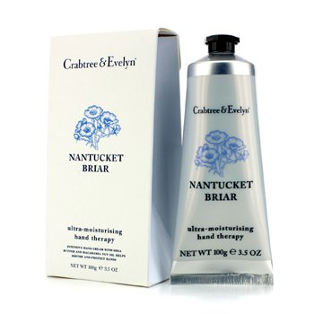 Crabtree & Evelyn Nantucket Briar Terapia de Manos Ultra Hidratante  100g/3.5oz