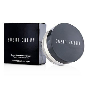 Bobbi Brown Sheer Finish Loose Powder - # 07 White (New Packaging)  6g/0.21oz