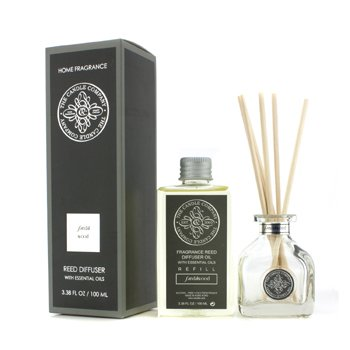 The Candle Company Reed Diffuser with Essential Oils - Sandalwood  100ml/3.38oz