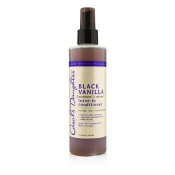Carol's Daughter Black Vanilla Moisture & Shine Leave-In Conditioner (For Dry, Dull & Brittle Hair)  236ml/8oz