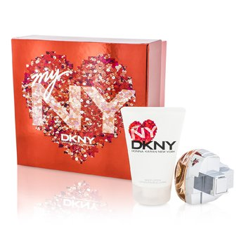 DKNY My NY The Heart Of The City kazeta: parfumovaná voda s rozprašovačom 50ml/1.7oz + telové mlieko 100ml/3.4oz  2pcs