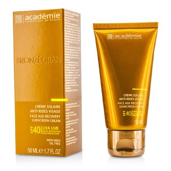 Academie Scientific System Face Age Recovery Sunscreen Cream SPF40  50ml/1.7oz