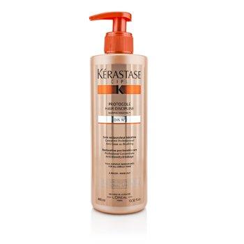 Kerastase Discipline Protocole Hair Discipline Soin N2 Cuidado Restaurados Pro Queratina (Para Todo Cabello Difícil de Manejar)  400ml/13.52oz