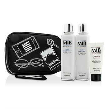 Dearberry Men In Berry Set: Toner 100ml + Emulsion 100ml + Suncream SPF50 50ml  3pcs+1bag