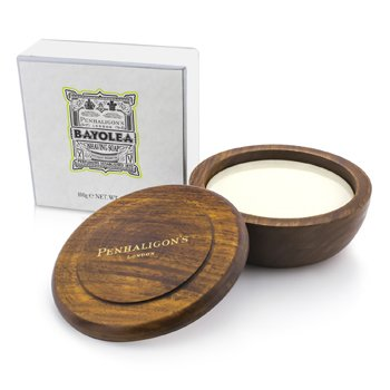 Penhaligon's Bayolea Shaving Soap In Wooden Bowl  100g/3.5oz