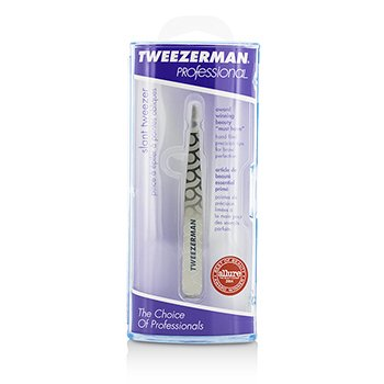 Tweezerman Professional Slant Tweezer - Regency Finish  -