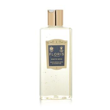 Floris White Rose Gel Humectante de Ba�o y Ducha  250ml/8.5oz