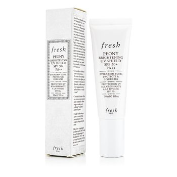Fresh Peony Brightening UV Shield SPF 50+ PA++  30ml/1oz