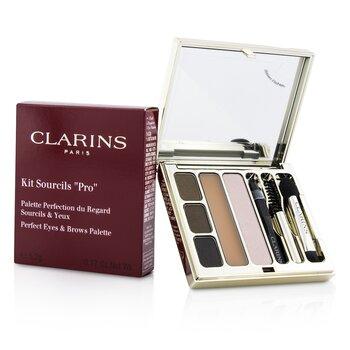 Clarins Paleta para Sobrancelhas e Olhos Kit Sourcils Pro Perfect   5.2g/0.17oz