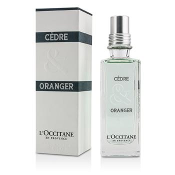 L'Occitane Cedre & Oranger Eau De Toilette Spray  75ml/2.5oz