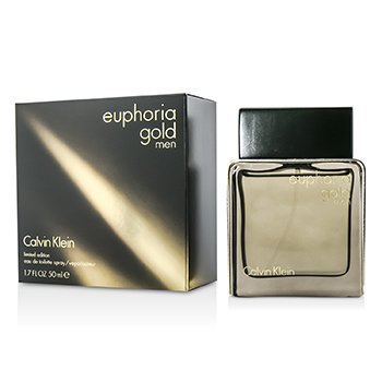 Calvin Klein Euphoria Gold Men Eau De Toilette Spray (Limited Edition)  50ml/1.7oz