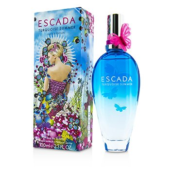 Escada Turquoise Summer Eau De Toilette Spray (Edición Limitada)  100ml/3.3oz