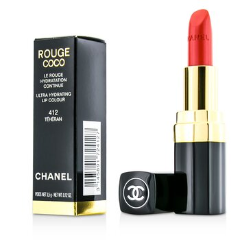 Chanel Rouge Coco Ultra Hydrating Lip Colour - # 412 Teheran  3.5g/0.12oz