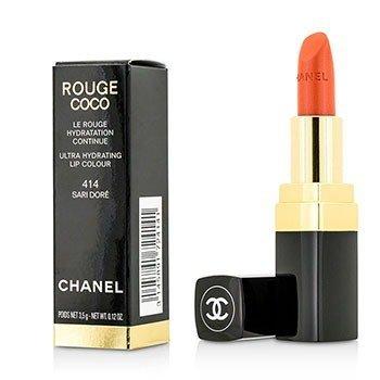 Chanel Rouge Coco Ultra Hydrating Lip Colour - # 414 Sari Dore  3.5g/0.12oz