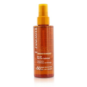 לנקסטר Sun Beauty Dry Oil Fast Tan Optimizer SPF 50 - שמן יבש לשיזוף מהיר  150ml/5oz