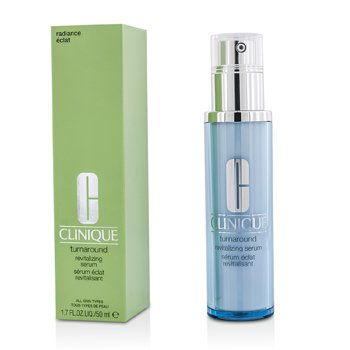 Clinique Turnaround Revitalizing Serum - Serum Revitalisasi Wajah  50ml/1.7oz