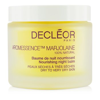 Decleor Aromessence Marjolaine Nourishing Night Balm - Dry to Very Dry Skin (Salon Size)  100ml/3.1oz