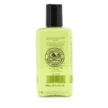 Crabtree & Evelyn West Indian Lime Hair & Body Wash - Pembersih Badan  300ml/10.1oz