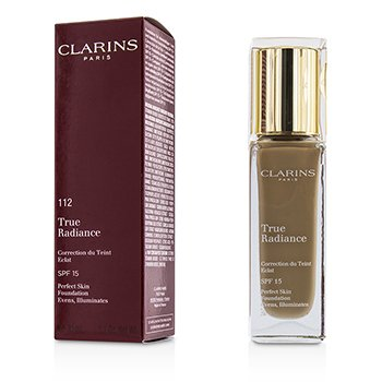 Clarins True Radiance Base SPF15 - #112 Amber  30ml/1.1oz
