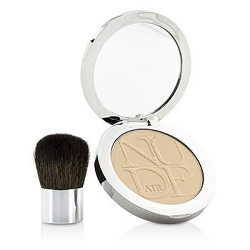 Christian Dior Diorskin Nude Air Healthy Glow Polvo Invisible (Con Brocha Kabuki) - # 020 Light Beige  10g/0.35oz