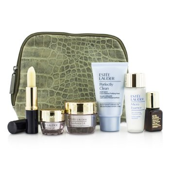 Estee Lauder ������ ���: Perfectly Clean 30�� + ����� ����� 30�� + Advanced Time Zone 15�� + ���� ���� 5�� + ANR 2 7�� + ���� ���� + �����  6pcs+1bag
