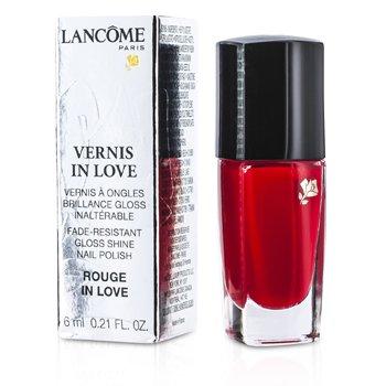 Lancome Vernis In Love Nail Polish - # 112B Rouge In Love  6ml/0.21oz
