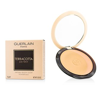 Guerlain Terracotta Joli Teint Natural Healthy Glow Powder Duo - # 03 Naturel/Natural Brunettes  10g/0.35oz