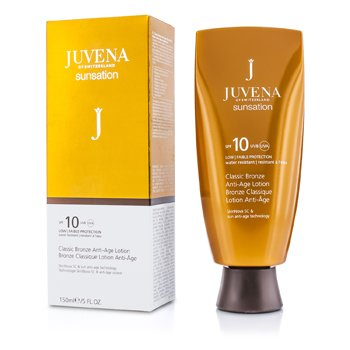 Juvena Sunsation Classic Bronze Anti-Age Lotion SPF 10  150ml/5oz