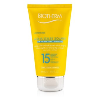 Biotherm Lekki krem do opalania Ultra Light Moisturizing Sun Gel SPF15 (Aquagelee)  150ml/5.07oz
