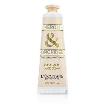 L'Occitane Collection De Grasse Neroli & Orchidee Hand Cream  30ml/1oz