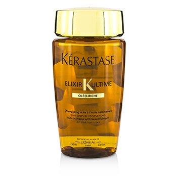 เคเรสตาส แชมพู Elixir Ultime Oleo-Riche Rich Shampoo (สำหรับผมหนาทุกสภาพ)  250ml/8.5oz