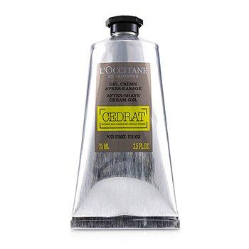 L'Occitane Cedrat After Shave Cream Gel  75ml/2.5oz