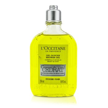 L'Occitane Cedrat Gel de Duș   250ml/8.4oz