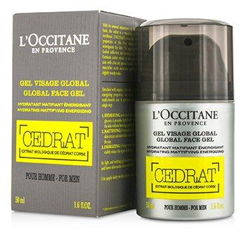 L'Occitane Cedrat Global Face Gel  50ml/1.6oz