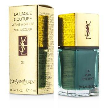 Yves Saint Laurent Esmalte La Laque Couture - # 36 Vert D'Orient  10ml/0.34oz