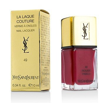 Yves Saint Laurent La Laque Couture Esmalte Uñas - # 49 Rouge Pablo  10ml/0.34oz
