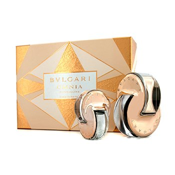 Bvlgari Omnia Crystalline Coffret: Eau De Parfum Spray 65ml/2.2oz + Eau De Parfum Spray de Cartera 15ml/0.5oz  2pcs