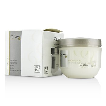 Olay Natural White Crema Iluminadora Natural UV SPF 18  100g/3.5oz