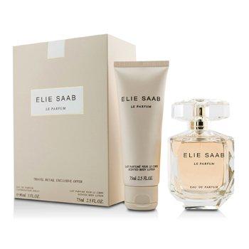 Elie Saab Bộ Le Parfum: Eau De Parfum Spray 90ml/3oz + Dưỡng Thể 75ml/2.5oz  2pcs