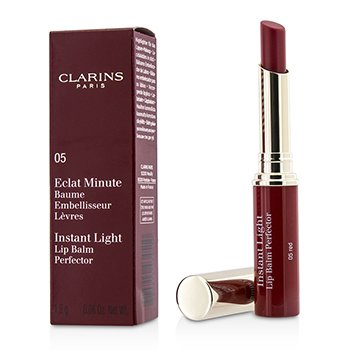 Clarins Balsam do ust Eclat Minute Instant Light Lip Balm Perfector - # 05 Red  1.8g/0.06oz