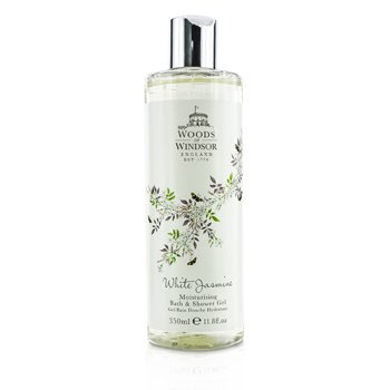 Woods Of Windsor White Jasmine  Gel Humectante Baño & Ducha  350ml/11.8oz