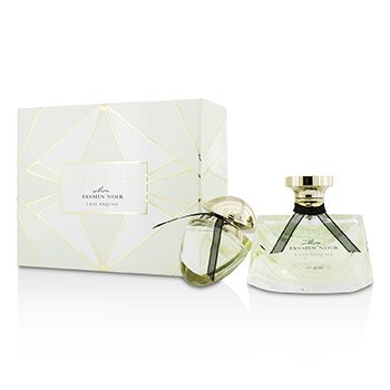 Bvlgari Mon Jasmin Noir L'Eau Exquise Coffret: Eau De Toilette Spray 75ml/2.5oz + Eau De Toilette Spray 15ml/0.5oz  2pcs