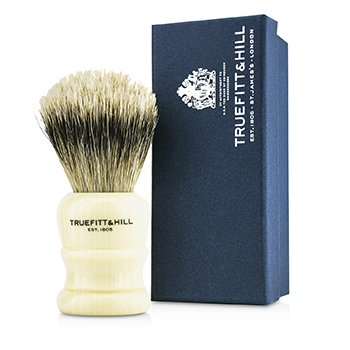 Truefitt & Hill Wellington Super Badger Shave Brush - # Faux Ivory  1pc