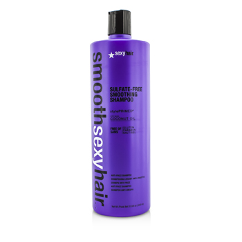 Sexy Hair Concepts Smooth Sexy Hair Champú Alisante Libre de Sulfato (Anti Frizz)  1000ml/33.8oz