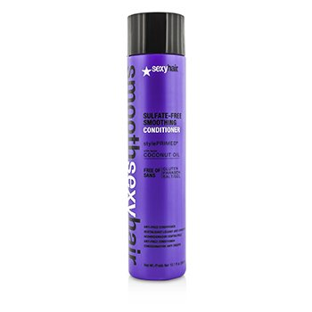 Sexy Hair Concepts Smooth Sexy Hair Acondicionador Alisante Libre de Sulfato (Anti Frizz)  300ml/10.1oz