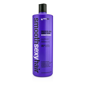 Sexy Hair Concepts Smooth Sexy Hair Acondicionador Alisante Libre de Sulfato (Anti Frizz)  1000ml/33.8oz