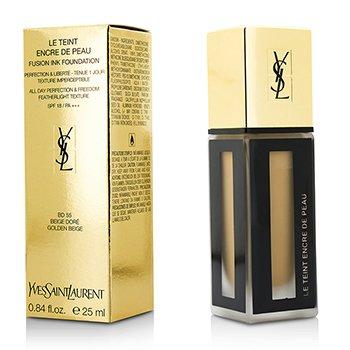 Yves Saint Laurent Le Teint Encre De Peau Fusion Ink Base SPF18 - # BD55 Beige Dore  25ml/0.84oz