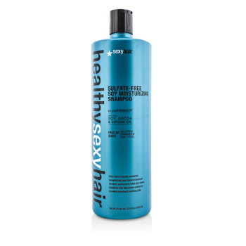 Sexy Hair Concepts Healthy Sexy Hair Champú Humectante Soja Libre de Sulfato  1000ml/33.8oz